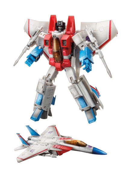B4702 Masterpiece Starscream Robot Vehicle